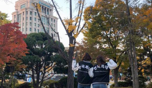 韓国外大に出会うと世界が見える!私が通う韓国外国語大学を紹介します!!